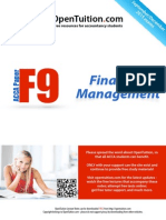 ACCA F9 December 2015 Notes