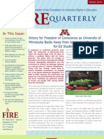 The FIRE Quarterly