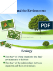 3. Ecology and the Environment