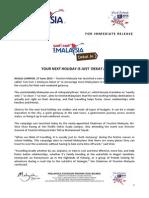 TMY Press Release