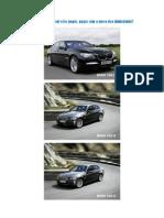 BMW 740 D Sabem Quem Possui Estes
