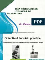 Pregatirea Preparatelor Pentru Microscopie-final