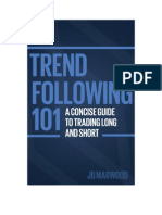 Trend Following101 a Concise Guide