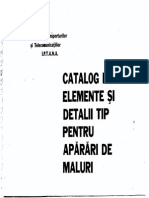 Catalog de Elemente Si Detalii Tip Pentru Aparari de Maluri