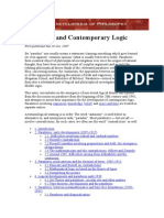 Paradoxes and Contemporary Logic