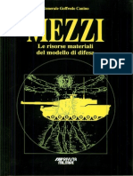 Le risorse materiali del modello di Difesa - Mezzi - 1992