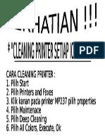 Perawatan Print