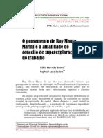 O pensamento de Rui Mauro Marini e a atualidade da superexploração do trabalho