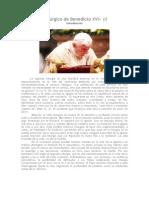 «El Legado litúrgico de Benedicto XVI»