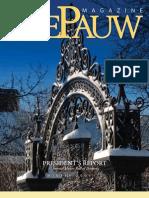 DePauw Magazine Winter 2009-10