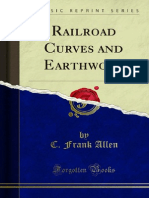 Railroad Curves and Earthwork  by Frank Allen