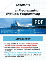 Chap 11 Integer Goal Nonlinear Programming