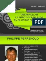 Perrenoud_Desarrollar Práctica Reflexiva