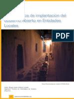 Guía Práctica de Implantación Del Gobierno Abierto en Entidades Locales