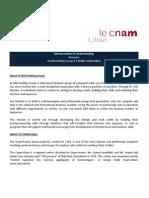 Mou-V2 Le Cnam - March 3rd 2015