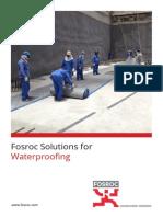 Fosroc Waterproofing Brochure