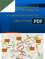 Kl City Grand Prix 2015 Traffic Management