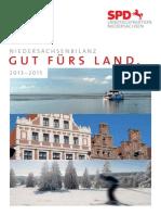 Niedersachsenbilanz | Gut fürs Land. 2013-2015