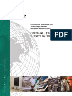 U.N. Study on E-Waste