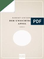 Der Unsichtbare Apfel_ Roman - Robert Gwisdek