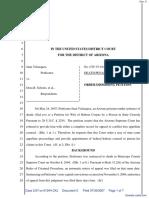 Velazquez v. Schriro et al - Document No. 5