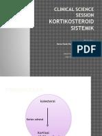 CSS - Kortikosteroid Sistemik
