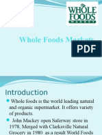 whole foods market case 2009