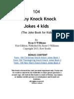 104 Funny Knock Knock Jokes