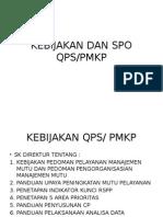 Kebijakan Dan Spo Mutu Pmkp-qps