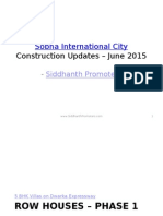 Sobha International City - Construction Updates (June 2015)