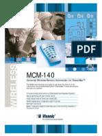 Visonic MCM140 Data Sheet