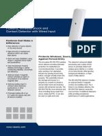 Visonic SD-304PG2 Data Sheet