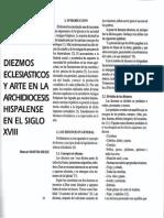 Diezmos Eclesiasticos y Arte en La Archidiocesis Hispalense en El Siglo XVII