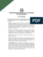 Reglamento Usuarios Servicios Finacieros