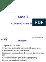 Eclampsia Case UKandTZ- June 2007 - Case Discussion With Notes