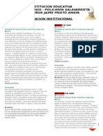 0racion Institucional 4 Al 8 de Junio de 2012
