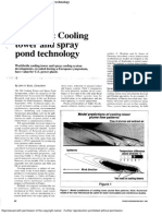 Cooling Tower and Spray Pond Technology