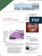 APUNTES JURIDICOS™_ Teoria de las Nulidades