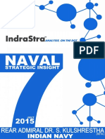 Naval Strategic Insight by Rear Admiral Dr. S. Kulshrestha (Retd.) INDIAN NAVY (JULY 2015)