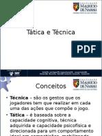 TECNICA E TATICA FUTSAL