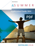 Global Summer Application Guide 2014