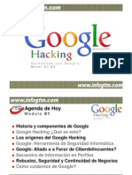Manual de Google Hacking