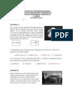 2A. PRUEBA DE LOGROS MATEMÀTICA 8°