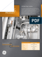 MS5001PA Gas Turbine Fact Sheet