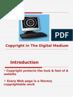 Copyright in the Digital Medium