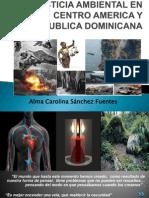 Justicia Ambiental en Centro America y Republica Dominicana