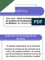 BIOÉTICA  Pallas