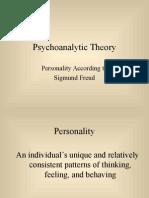 Psychoanalytic Theory - Freud.ppt