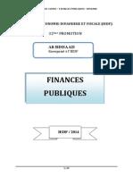 Finances Publiques Bissaad