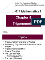 Chapter 5 Trigonometry